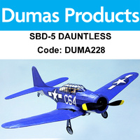 DUMAS 228 SBD-5 DAUNTLES WALNUT SCALE 18 INCH WINGSPAN RUBBER POWERED