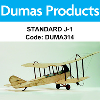 DUMAS 314 STANDARD J-1 30 INCH WINGSPAN RUBBER POWERED