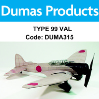 DUMAS 315 TYPE 99 VAL  30 INCH WINGSPAN RUBBER POWERED