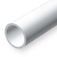 EVERGREEN 225 35CM PLASTIC TUBE .156 (PACK OF 4)
