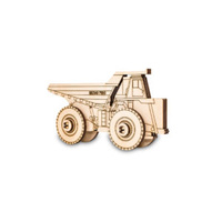 Construction kit- souvenir, rotating wheels, easy & fast assembling