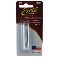 EXCEL 20021 SUPER SHARP STAINLESS BLADE (PKG OF 5)