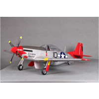 P-51D V8 1400mm Red Tail PNP