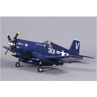 F4U 800mm Corsair Royal Blue (V2) PNP (UPGRADED WITH REFLEX)