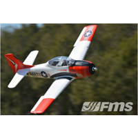 T-28D Trojan V4 1400mm Red PNP