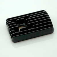 FORCE 12 CYLINDER HEAD  SQUARE BLACK