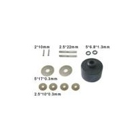 HAIBOXING 3338-T011 DIFF. PINIONS+PINS+SHIMS+SEALS+ CASE ASSEMBLY