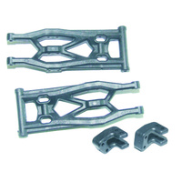HAIBOXING 69509 SUSPENSION ARMS (LOWER REAR)+SHOCK RETAINERS
