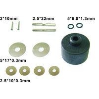 HAIBOXING 69555 DIFF. PINIONS+PINS+WASHERS+O-RING+ DIFF. CASE