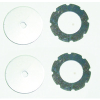 HAIBOXING 69718 SLIPPER GEAR PLATES & FIBRE PADS