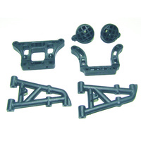 HAIBOXING 69735 REAR STAYS+MOUNT+LIGHT MOUNTS SET