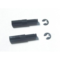 HAIBOXING KB-61031 FRONT AXLES + E-CLIPS 3MM