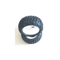 HAIBOXING KB-65005 OFF ROAD TYRES WITH SPONGE INSERTED ( FRONT/REAR ARE SAM