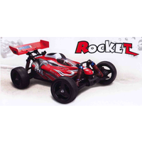 (6588) 1/10 SCALE 4WD BUGGY WITH BRUSHED MOTOR RADIO INSTALLED