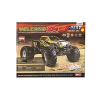 (XP4) 1/10 SCALE VOLCANO 2WD MONSTER TRUCK WITH RADIO INSTALLED W/ NICAD