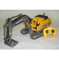 HOBBY ENGINES ECONOMY VERSION EXCAVATOR WITH 2.4GHZ RADIO, NIMH BATTERY & C