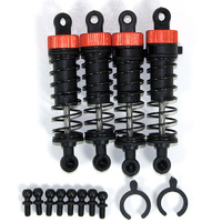HELION HLNA0012 FRONT & REAR SHOCK SET WITH BALL STUDS (ANIMUS)