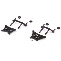 HELION HLNA0076 SHOCK TOWER AND BODY MOUNT SET (DOMINUS. SC)