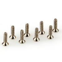 HELION HLNA0125 FLAT HEAD PHILIPS SCREWS (FHPS). M2X8MM