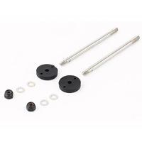 HELION HLNA0239 SHOCK SHAFT SET. BIG BORE. FRONT (DOMINUS)