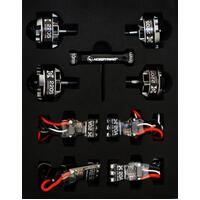 ###XRotor PWR system G motors & esc 2600KV FPV Combo designed for Drone Racing Reliable, High responsive brushless system BLHeli / Oneshot ready
