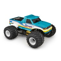 "1993 Ford F-250 monster truck body w/ fastback and visor - (7"" width & 13"" wheelbase)"