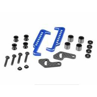 Swing Operated Battery Retainer Set blue