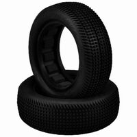 "Sprinter 2.2 - Buggy 2wd front green blue compound Fits - 2.2"" 1/10th buggy front wheel Includes Dirt-Tech closed cell inserts"