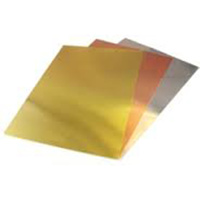 K&S 15058 FOIL SHEET 5 X 7 IN FOIL COMBO .005 (3 PIECES PER BAG)
