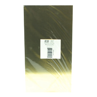 K&S 16408 BRASS SHEETS (6IN X 12IN) .040 (1 SHEET PER PACKAGE)