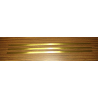 K&S 247F BRASS STRIP (36IN LENGTHS) .064 X 3/4 (1 STRIP PER BAG X 3 BAGS)