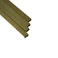 K&S 264F BRASS RECTANGULAR TUBE (36IN LENGTHS) 1/8 X 1/4 (1 TUBE PER BAG X