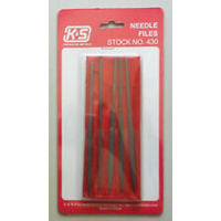 K&S 430 NEEDLE FILES ASST (1 PIECE)