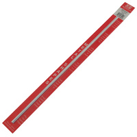 K&S 83044 SOLID ALUMINUM ROD (12IN LENGTHS) 3/16IN  (1 ROD PER CARD)