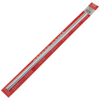 K&S 83047 SOLID ALUMINUM ROD (12IN LENGTHS) 3/8IN  (1 ROD PER CARD)