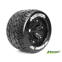 MT-Rocket 1/8 Monster Truck Tyres Black