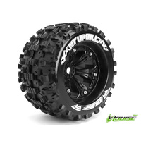 MT-Uphill 1/8 Monster Truck Tyres Black