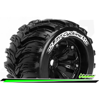 MT-Cyclone 1/8 Monster Truck Tyres Black