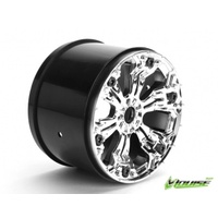 Chrome Rims 3.8 0 offset