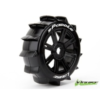 B-Paddle 1/8th Buggy Tyre BLK/spoke