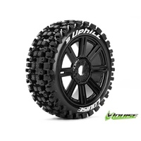 B-Uphill 1/8th Buggy Tyre BLK/spoke