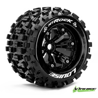 MT-ROCK 3.8in. Black 1/2 offset Tyre/Whe