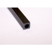CARBON FIBRE SQUARE ROUND TUBE 6mm