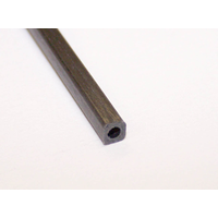 CARBON FIBRE SQUARE ROUND TUBE 2.5mm