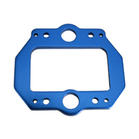 GV MV30424BL MAIN GEAR PLATE (T=3MM. BLUE)