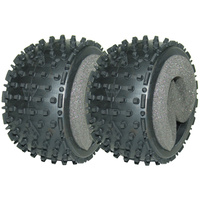 GV MV3695S LARGE 1/8  BUGGY GRINDER TYRES W/ INSERT (PAIR)