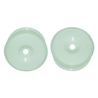GV MV37004W RACING  WHEELS (WHITE COLOR  2PCS)