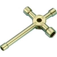 C.Y. LONG SHAFT 4/WAY WRENCH