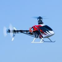 OPTIM 300CP FULLY AEROBATIC FLYBARLESS HELI WITH ADVANCED FLIGHT AIDES: RTF