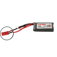 Team Orion LiPo 1000 2S 7.4V 50C JST